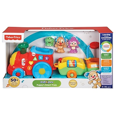 Fisher-Price – Train intelligent de Puppy, bilingue