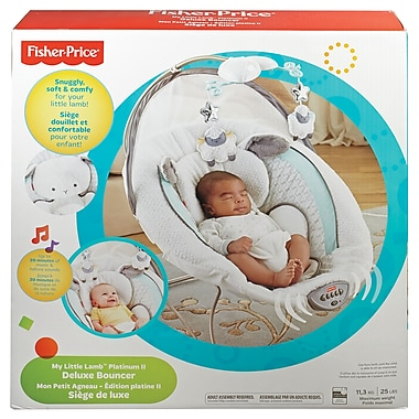 Fisher Price – Siège sauteur Little Lamb de luxe