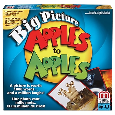 Fisher Price – Jeu Apples to ApplesMC Big Picture