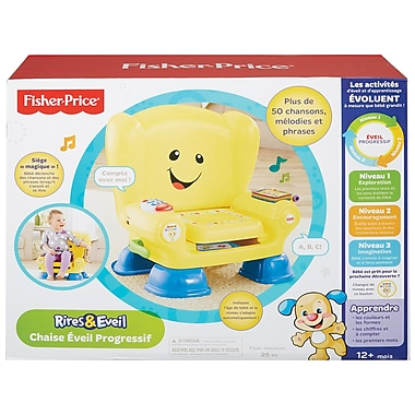 Fisher Price – Fauteuil Smart Stages de la collection Laugh & Learn, en français