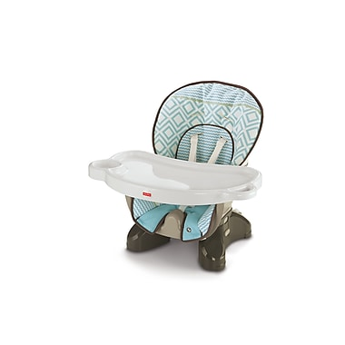 Fisher-Price – Chaise haute compacte, Rythme turquoise