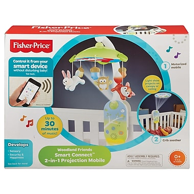 Fisher-Price – Mobile projecteur 2 en 1 avec Smart Connect