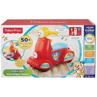 Fisher Price – Scooter avec chiot Smart StagesMC de la collection Laugh & LearnMD, en français