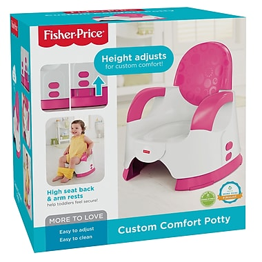 Fisher-Price – Pot de propreté personnalisable pour le confort, rose