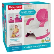 Fisher Price Pink Custom Comfort Potty