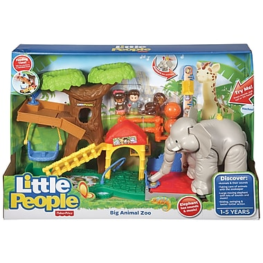 Fisher-Price – Zoo des gros animaux Little People