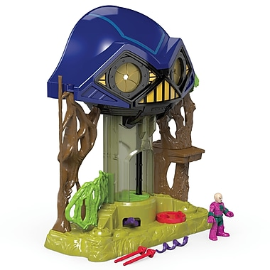 Fisher-Price – Décor pour figurines Hall of Doom Super Friends Imaginext DC