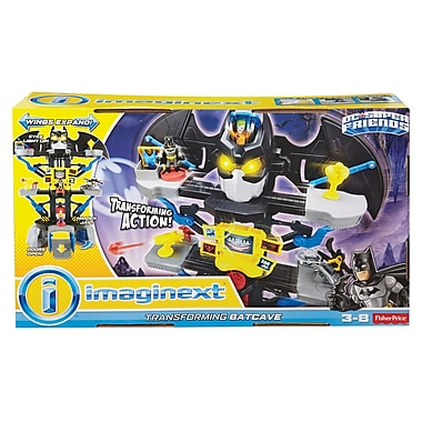 Fisher-Price – Batcave transformable DC Super Friends Imaginext