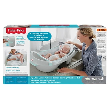 Fisher-Price – Baignoire My Little Lamb, édition Platinum