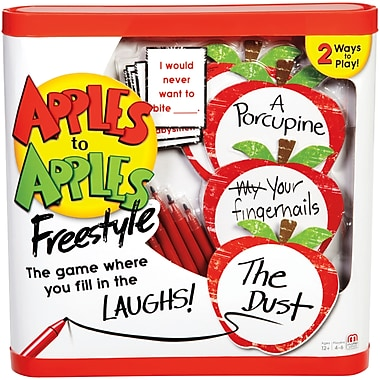 Fisher Price – Jeu Apples to ApplesMC Freestyle