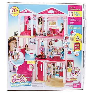 Fisher-Price – Maison de poupées Barbie New Dreamhouse