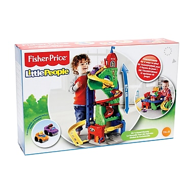 Fisher Price – Tour de transformation Little PeopleMD