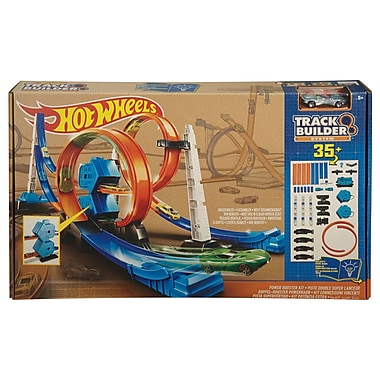 Fisher Price – Coffret de construction de piste Hot Wheels