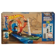 Fisher Price Hot Wheels Track Builder Design-a-race