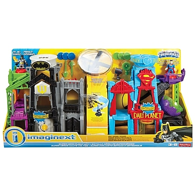 Fisher-Price – Ensemble de villes de superhéros DC Imaginext