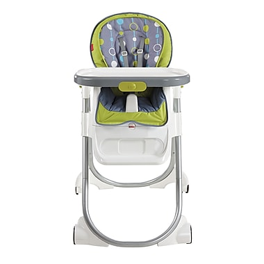 Fisher-Price – Chaise haute Total Clean, brun