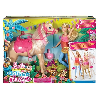 Fisher Price – Barbie et son cheval Dancin amusant