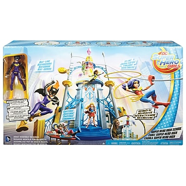 Fisher Price – Ensemble de jeu École des superhéros DC Super Hero Girls