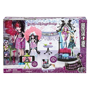Fisher Price – Coffret de jeu The Fright Away de Monster High