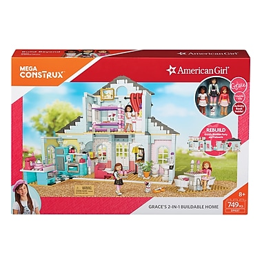 Fisher Price – Maison constructible American Girl 2 en 1 de Megabloks