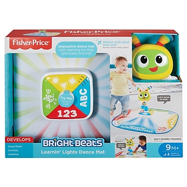 Fisher Price – Tapis de danse illuminé Bright Beats