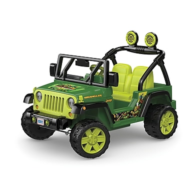 Fisher Price – Camion Power Wheels Jeep des Tortues Ninja