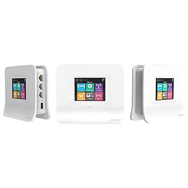 Securifi – Routeur Wi-Fi maillé AC1200, Almond 3 AL3-BD02, centrale domotique, écran tactile, blanc, paq./3