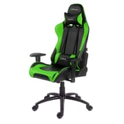 Arozzi Verona Racing Style Gaming Chair, Green (VERONA-GN)