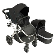 Babyroues® Letour Avant Bassinet and Stroller System, Eclipse/Silver (7512)