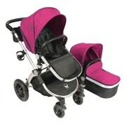 Babyroues® Letour Avant Bassinet and Stroller System, Bloom/Silver (7514)