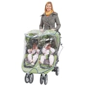Babyroues® Comfy Baby Universal Double Jogging Stroller Raincover, Clear (920)