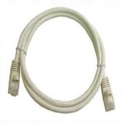 Calrad® 72-111-7-WH RJ-45 White 7' Molded Ends Snagless Cat6 Cable