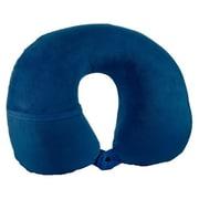 Travel Smart® Compact Comfort Hybrid Neck Rest, Navy Blue (TS45NR)