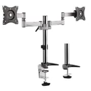 "Diamond Ergonomic Adjustable Height Articulating Mount for 27"" Monitor, Black/Silver (DMCA210)"