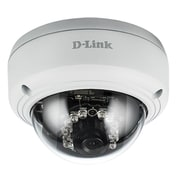 D-Link® Vigilance HD DCS-4603 Wired Indoor 3 MP Full HD PoE Dome Camera, Day/Night Vision, White