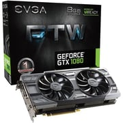 EVGA GeForce GTX 1080 FTW PCI Express 3.0 Gaming Graphic Card, 8192MB GDDR5X (08G-P4-6286-KR)
