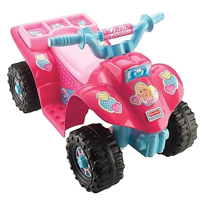 Fisher-Price Power Wheels Barbie Lil Quad 4