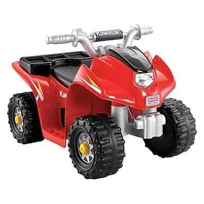 Fisher-Price Power Wheels Kawasaki Lil Quad All-Terrain