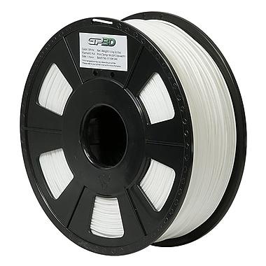 Green Project 3D-PLA-1.75WT White 3D PLA Filament for 3D Printers