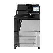 HP® LaserJet M880z Color Laser Multifunction Printer, A2W75A#201, New