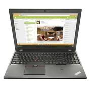 """lenovo® ThinkPad T560 15.6"""" Notebook, LCD, Intel Core i5-6300U, 500GB HDD, 4GB RAM, WIN 10 Pro, Black"""