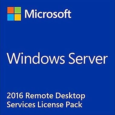 Microsoft Windows Remote Desktop Services 2016 Software License, 5 Device CAL (6VC-03052)