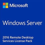 Microsoft Windows Remote Desktop Services 2016 Software License, 1 User CAL (6VC-03051)