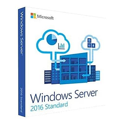 Microsoft Windows Server 2016 Standard 64-bit Software, 5 CAL, DVD-ROM (P73-07041)