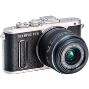 Olympus® PEN E-PL8 16.1 MP Mirrorless Digital Camera, 3x, 14 mm - 42 mm, Black