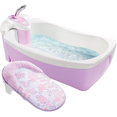 Summer Infant® Lil' Luxuries® Whirlpool Bubbling Spa and Shower, Violet (18873)