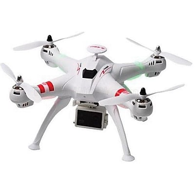 MYEPADS R/C Brushless Drone with 10MP HD Camera, White (DRONE-X16-WHT)