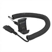 Zebra® Quick Disconnect Audio Cable for Audio Device/Mobile Computer/Headset, Black (CBL-TC8X-AUDQD-01)
