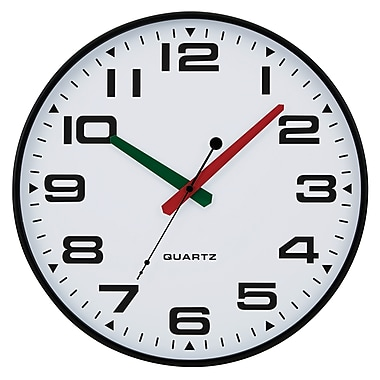 Tempus Contemporary Wall Clock with Silent Sweep Quiet Movement, 13