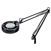 V-LIGHT Fluorescent Full Spectrum Magnifier Clamp Lamp, Black (VS103B)